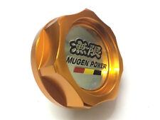1Pcs Gold Mugen Power Aluminum Alloy Car Oil Filler Cap Racing Engine Tank Cover