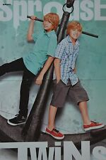 SPROUSE TWINS - A3 Poster (ca. 42 x 28 cm) - Cole Dylan Clippings Sammlung NEU
