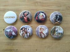 "8 1"" Legend Movie pinback badges buttons"