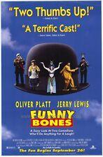 FUNNY BONES Movie POSTER 27x40 Oliver Platt Lee Evans Leslie Caron Jerry Lewis