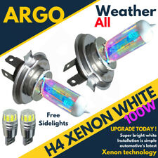 H4 100w Super White Xenon (472) Headlight Bulbs 12v Ultra Bright Bulbs Xennon