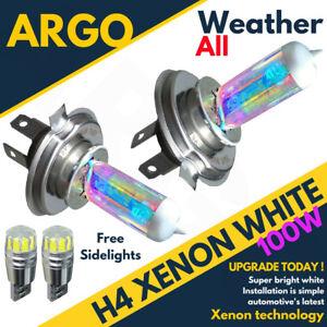 H4 Xenon Headlight White 100w Super 472 Headlamp Car Bulbs 501 Side Light Led