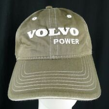 Volvo Penta Power Adjustable Hat Khaki With White Embroidery Low Profile