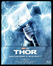 THOR TRILOGY Blu-ray Steelbook