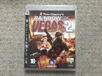 Tom Clancy's Rainbow Six Vegas 2 - Playstation 3 PS3 No Instructions UK PAL