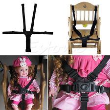 Kids 5 Point Safety Harness Stroller Baby High Chair Pram Buggy Car Belt Strap