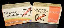 1 New SHULAMMITE CARROT SOAP Anti Acne Skin Clarifying Oil Regulating USA Seller