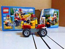 LEGO City Fire ATV Set # 4427 - Used Complete w/ Manual