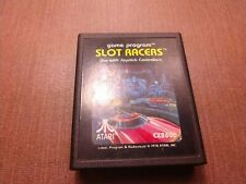 Atari 2600 Cart Only Tested Slot Racers Ships Fast Clean Label