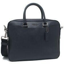 COACH Beckett Compact Brief Laptop Briefcase Bag Midnight Navy F72974