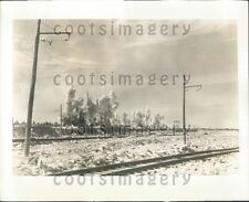 1939 Rock Quarry Explosion Stone For Construction Projects Press Photo