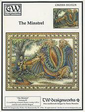 Teresa Wentzler The Minstrel OOP Counted Cross Stitch Pattern