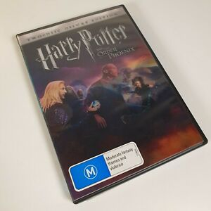 Harry Potter And The Order Of The Phoenix 2-Disc DELUXE ED. DVD PAL R4 FREE POST