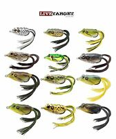 """Livetarget Hollow Body Frog 65 2 5/8"""" Topwater Frog Bass Fishing Bait 12 Colors"""