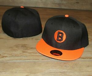 Baltimore Black Sox Negro League Throwback Fitted Hat Cap Men's Size 7 1/4