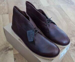 Clarks Originals Desert Boots Brown Premium  Leather UK 10.5 EU 45