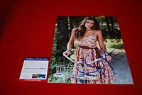 sexy JANA KRAMER one tree hill country singer signed PSA/DNA 8x10