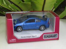 "Kinsmart (5"")  Die cast Car Honda Integra DC5 Type R Super Car Blue 2002"