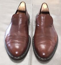 Costume National Homme Italy Calfskin Leather Slip On Mens Shoes 11.5D $695