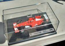 1/64 Mattel Hot Wheels F1 Ferrari F2003 GA #1 Schumacher World Champ Marlboro