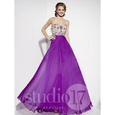 Studio 17 Prom Dress 12562 Purple Size 10 NWT