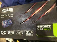 ASUS GEFORCE GTX 650 Ti OC Edition  GDDR5 2GB