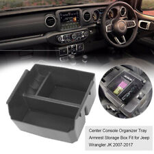 Car Interior Accessories Armrest Storage Box For Jeep Wrangler JK 2011-2017
