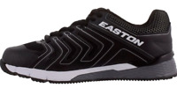 NEW BLACK EASTON FORTIFY KIDS YOUTH TURF BASEBALL SHOES CLEATS