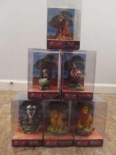 Disney Lion King Enesco SCULPTED FIGURINE Lot Rafiki Scar Simba Mufasa Timon New