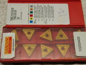 x10 Sandvik TNMG 160408-QM 235 Carbide inserts new
