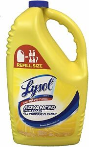 All Purpose Cleaner Grease Deodorizes Soap Scum Lemon Breeze Refill Bottle 144oz
