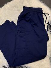 Scrubstar Women's Core Essentials Drawstring Blue Scrub Pants Sz XL Medical