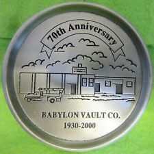Babylon Vault Co. New Windsor, MD 1930-2000 70th Anniversary Cup Caddy
