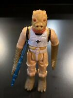 Vintage Bossk Star Wars Action Figure 1980 Hong Kong - COMPLETE