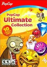 Popcap 10 Games Ultimate Collection, Plants vs Zombie, Zuma & more - New!
