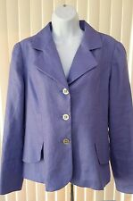 NEW Coldwater Creek Womens Blazer/Jacket, Size 12, Purple