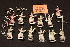 WARHAMMER Dark Elves BALESTRE REGGIMENTO esercito ELF 12 cifre metallo Games Workshop
