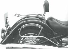 Yamaha XV 1600 Wild Star Solorack with backrest Chrome BY HEPCO AND BECKER