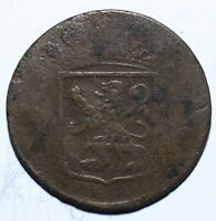 1790 VOC Netherlands East Indies One 1 Duit Holland - Lot 457