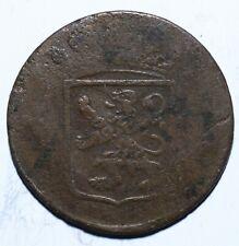 1790 VOC Netherlands East Indies One 1 Duit Holland - Lot 457