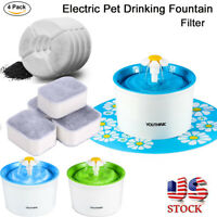 Automatic Electric Pet Water Fountain Dog Cat Drinking Bowl 1.6L Feeder / Filter