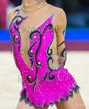 2018 new style Girl Rhythmic Gymnastics Leotards  Ice Figure Skating Dress 91004