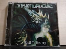 INRAGE - BUILT TO DESTROY - CD completo BAND METAL CD NUOVO 2002