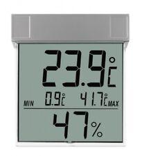 Digitales Außen Fensterthermometer Hygrometer selbstklebend Garten Min-Max