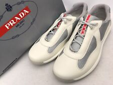 Prada Leather Sneakers Trainers UK9 EU43  /US10 American cup Shoes New