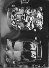A097 3D Three Little Pigs Chocolate Candy Soap Mold with Instructions