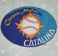 "Corona Nation Baseball Patch - Catalina - 3 3/8"" x 2 1/2"""