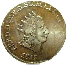 PALERMO-Sicilia (Ferdinando III) 10 Grani 1815