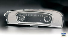 1965 - 1966 FORD F100 F250 TRUCK CHROME DASH INSTRUMENT CLUSTER BEZEL & LENS
