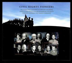 "1¢ WONDER'S ~ 2008 MNH SOUVENIR SHEET W/ 42¢ ""CIVIL RIGHTS PIONEERS"" ~ S817"